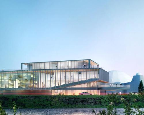 The project will see new 10,000sq ft (930sq m) and 3,000sq ft (280sq m) gallery buildings constructed / Gibbs Gage Architects / KPMB Architects