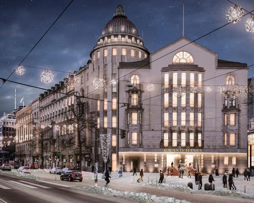 The hotel will open in Helsinki in 2022.