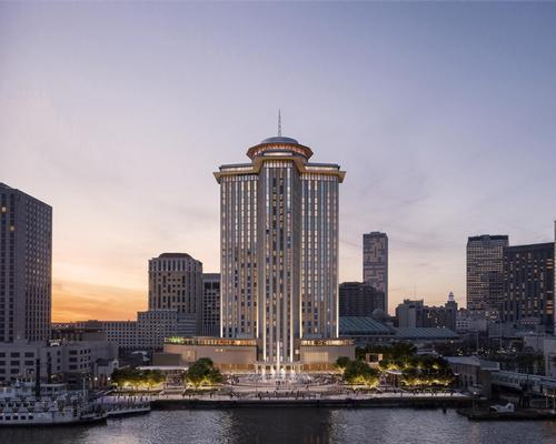 Four Seasons New Orleans will have panoramic views of the Mississippi @FourSeasons