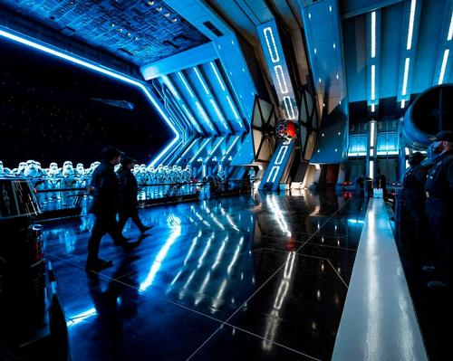Star Wars: Rise of the Resistance is a trackless dark ride and motion simulator