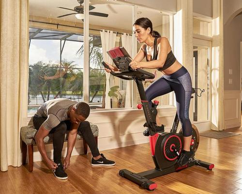 Echelon provides indoor exercise bikes and mirror-like