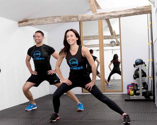 LRG Fitness is operated by ex-British Sports Aerobic champion Nina Gambling and husband Ben