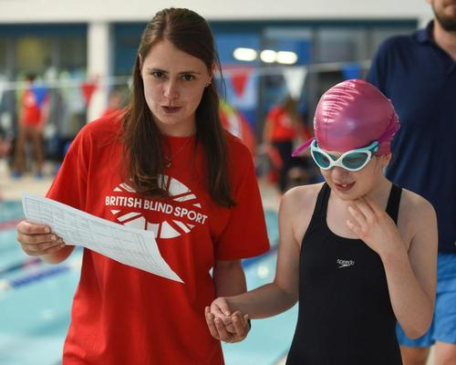 British Blind Sport launches research project into children's physical development