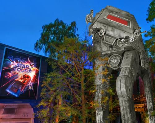 Star Tours has been updated to include destinations and sequences from <i>Star Wars: The Rise of Skywalker</i>