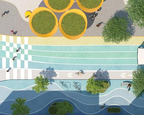 The proposal is the output of the Downtown Brooklyn Public Realm Action Plan / Bjarke Ingels Group