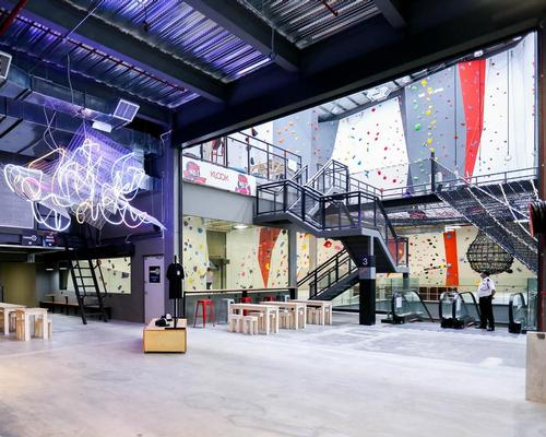 The facility is housed in a 2,000sq m (21,500sq ft), 15m (49ft)-high warehouse-like space