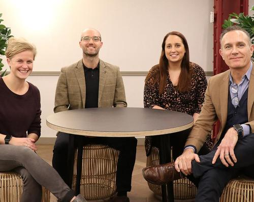 The new appointments are (from left) Gemma Williams, Chris Foster, Emma Thomas and David Gerrish / ukactive