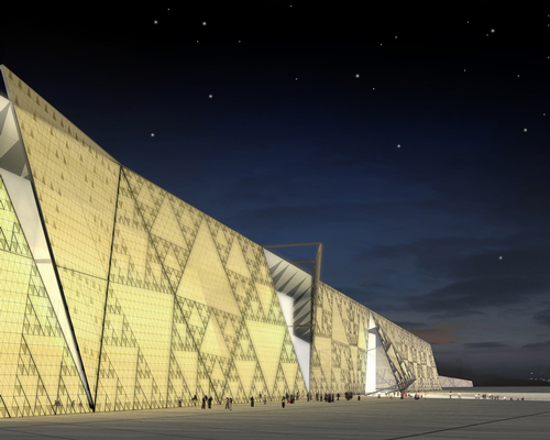 The museum building will cover an area of 100,000sq m (1.1 million sq ft) / Heneghan Peng Architects