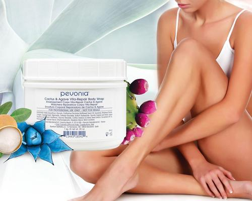 Pevonia's eco-conscious No Wrap Body Wraps are designed to deliver potent skincare benefits whilst conserving water
