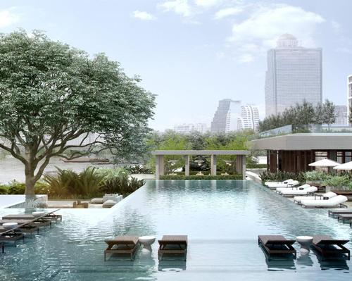 The hotel occupies a 200m (660ft) stretch along the Chao Phraya River