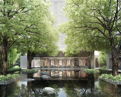 Its design is inspired by Thai culture and the hotel's riverfront location / Four Seasons