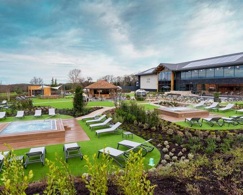Carden Park welcomes brand new £10m spa with Bollinger garden bar @cardenparkhotel @BollingerUK #newopening #spa #Cheshire