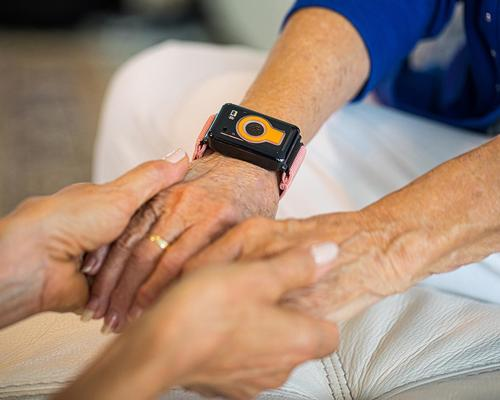 The wearable allows families of seniors to know when they are skipping meals, aren't sleeping well, are less active or if things are different than usual / CarePredict