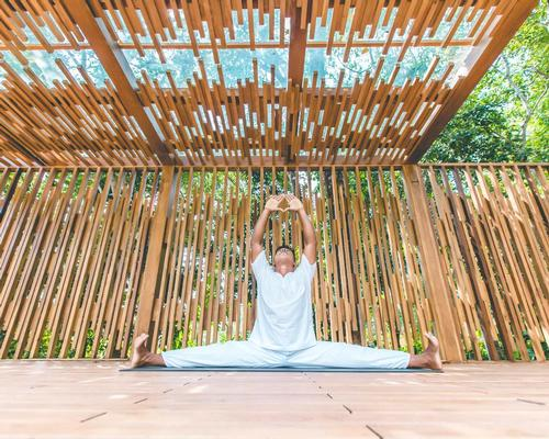 Guests can visit the yoga pavilion and enjoy unlimited meditation sessions