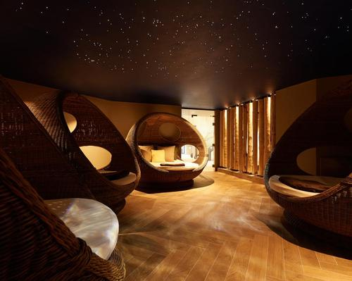 The spa includes six relaxation rooms