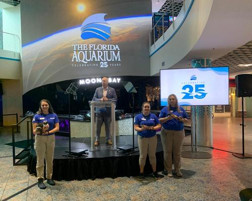 President and CEO Roger Germann has announced a raft of new initiatives for The Florida Aquarium, as it reaches 25 years old