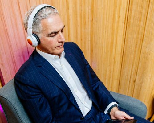 Hyatt CEO Mark Hoplamazian enjoying his access to Headspace