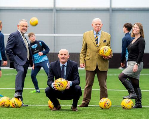 Caird Park, Scotland's Regional Performance Centre for Sport, opens