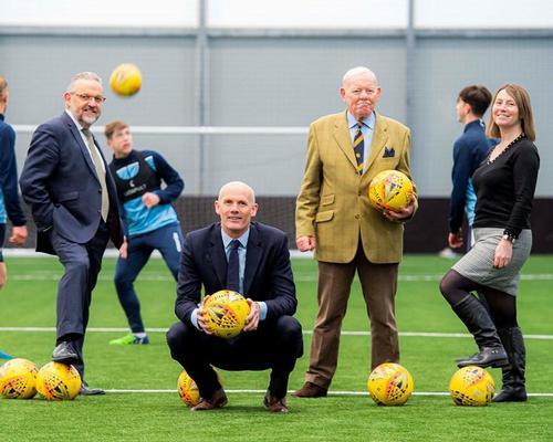 Caird Park, Scotland's Regional Performance Centre for Sport, opens