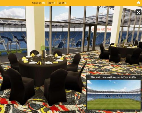 Wasps become first premiership club to offer 3D visualisation of hospitality suites