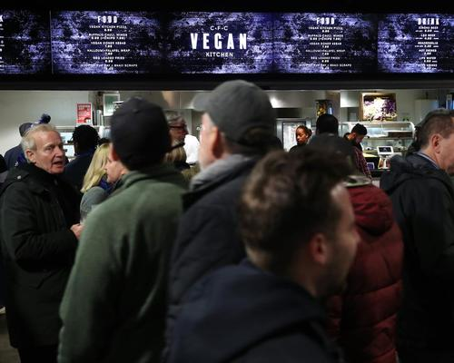 The CFC Vegan Kitchen at the club's Stamford Bridge stadium will provide a range of plant-based alternatives for fans on match days