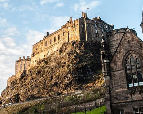 Edinburgh Castle is included in the Heritage on the Edge project / CyArk