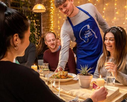 Every aspect of the restaurant has been designed with positive mental wellbeing in mind