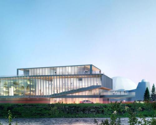 10,000sq ft (930sq ft) of gallery space was added to the building / Gibbs Gage Architects / KPMB Architects