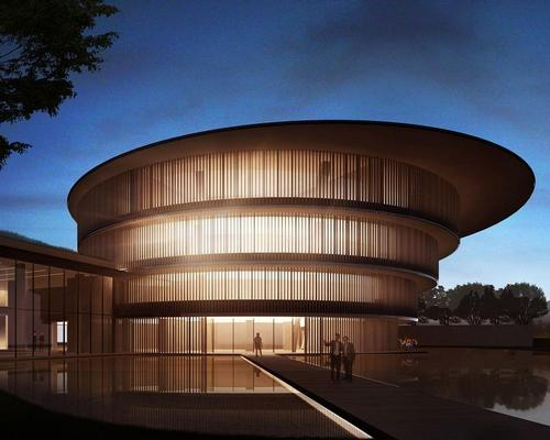 HE Art Museum has been designed by architect Tadao Ando / HE Art Museum