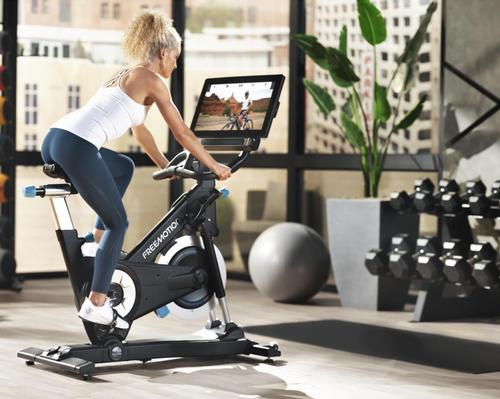 A key feature of the CoachBike is its terrain-matching technology, which auto-adjusts the speed, incline, and resistance in sync with the chosen route