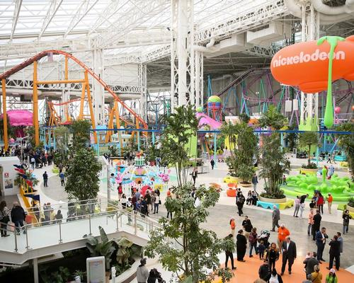 The destination covers 3,000,000 sq ft (280,000sq m), with over 450 stores and 15 attractions
