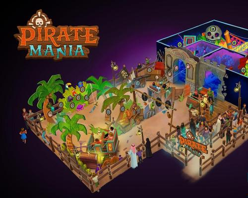 ETF and Jora Vision join forces for Pirate Mania dark ride