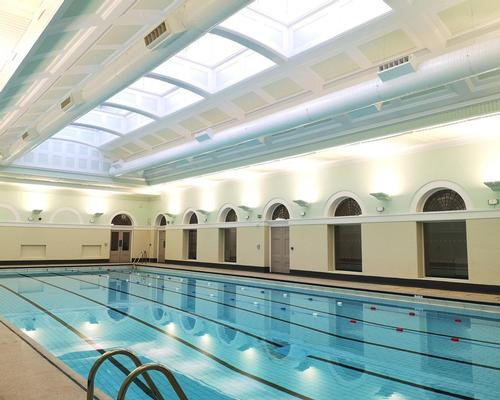 The historic, 25m swimming pool has been restored to its original state / Fusion Lifestyle