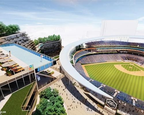 Pendulum integrate parks and pools into Kansas City Royals downtown regen concept
