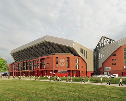 Plans to expand Anfield were first revealed in 2014