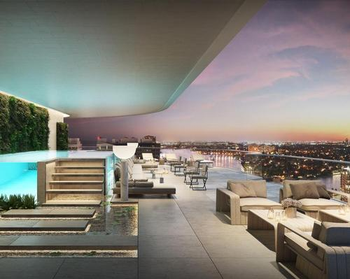 The so-called SkyHome will feature a 7,000sq ft (650sq m) private rooftop park