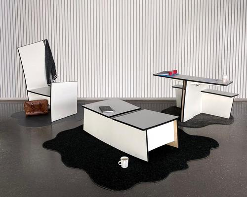 Daniel Svahn creates furniture collection using repurposed table tops