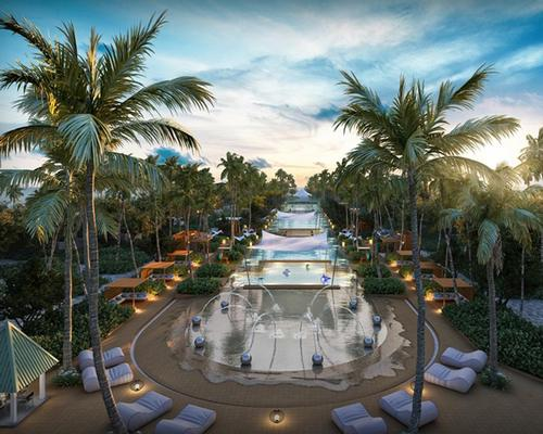 Located on a coral island called Kudavillingili, the mixed-use resort development will feature a spa with eight overwater treatment rooms