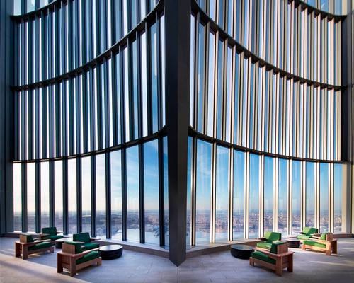 New York's highest outdoor residential amenity space opens at Fifteen Hudson Yards