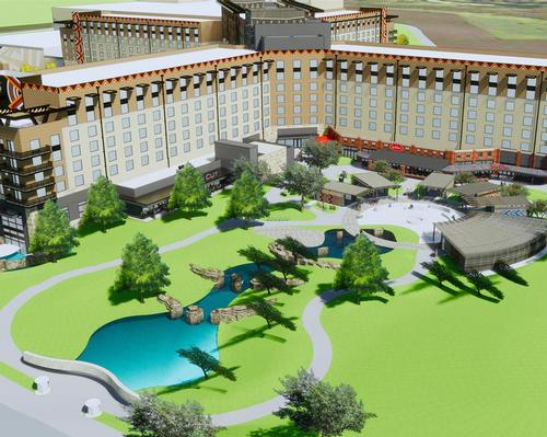 Kalahari's Round Rock venue is expected to open with 1.5 million square feet of resort space