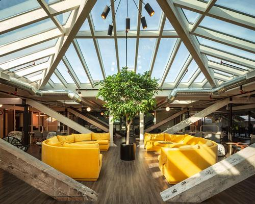 MJM and Hansenbuilt transform derelict loft into wellness-focussed co-working space
