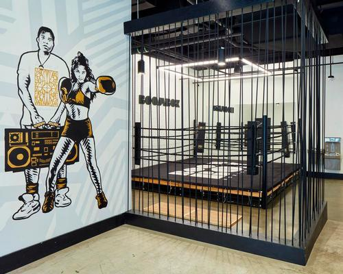 //3877 compose approachable, music-themed boxing gym in Washington, D.C.