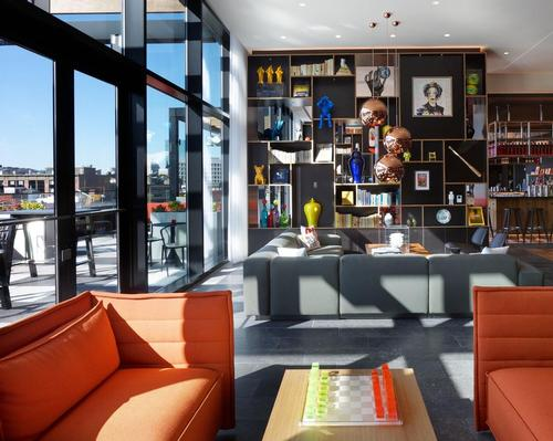 Gensler and Concrete collaborate on citizenM hotel in Seattle arts district