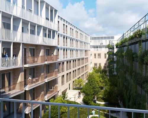 A courtyard at the centre will provide green space for building occupants / Henning Larsen