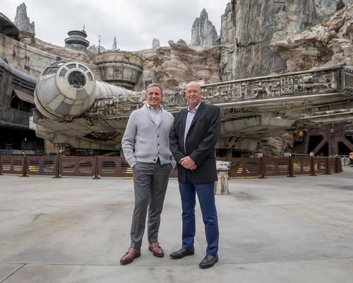 Bob Iger (left) has been replaced as Disney CEO by Bob Chapek (right)