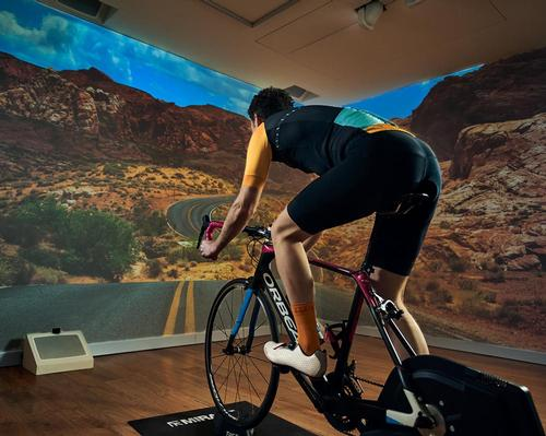 Immersive Gym reveals augmented real-time fitness journeys