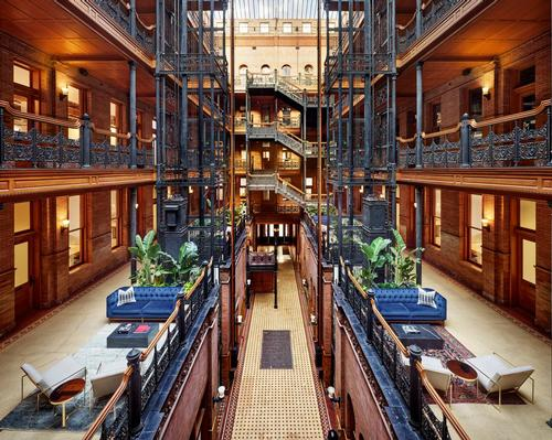 DesignAgency transform LA's celebrated Bradbury Building into holistic co-working space