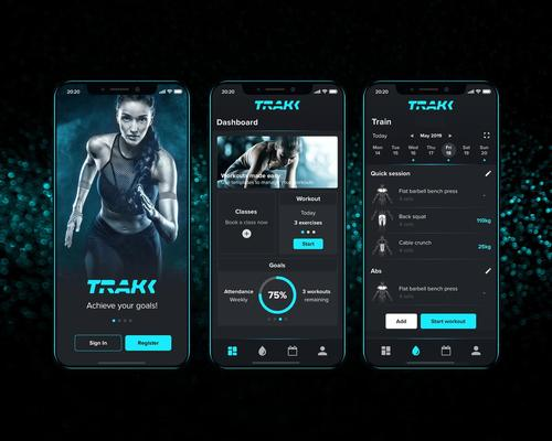 Pulse's TRAKK app is billed as the 'ultimate personal training tool'