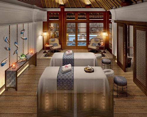 The spa philosophy will be based on seven 'healing attributes' to guide its focus and offerings