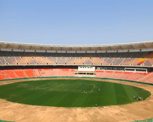 The Motera Stadium was constructed over the course of three years at a cost of $100m (€89m, £77m) / Walter P Moore